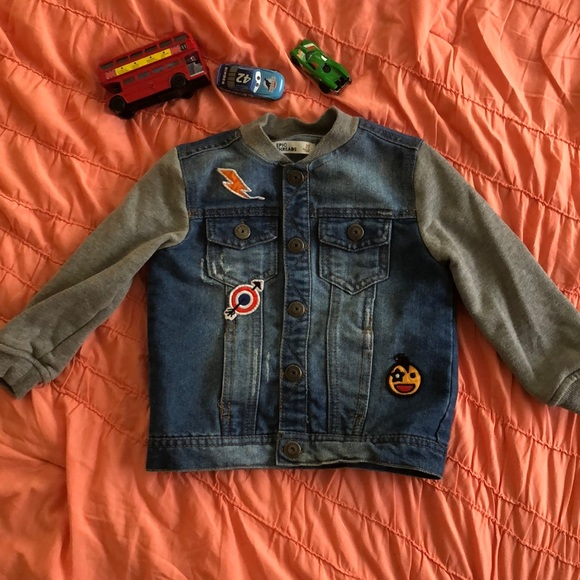 Epic Threads Other - Trendy Jean Jacket with Patches - Size 3T